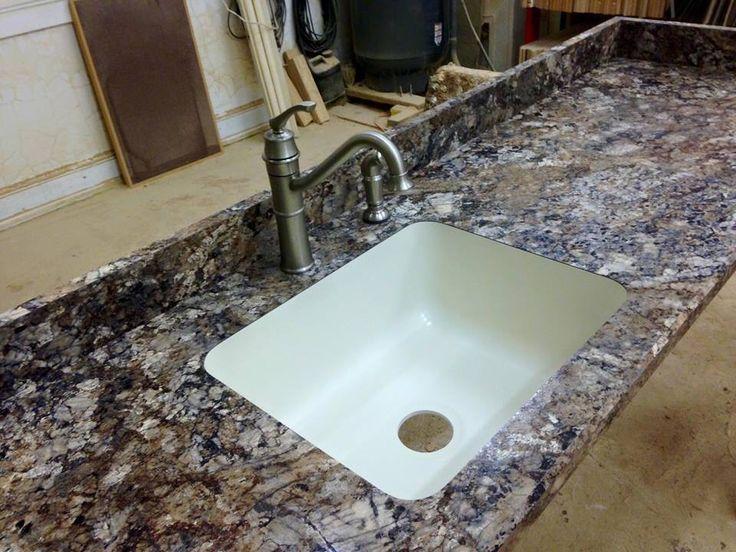 Winter Carnival HD Finish Karran Undermount Single Sink