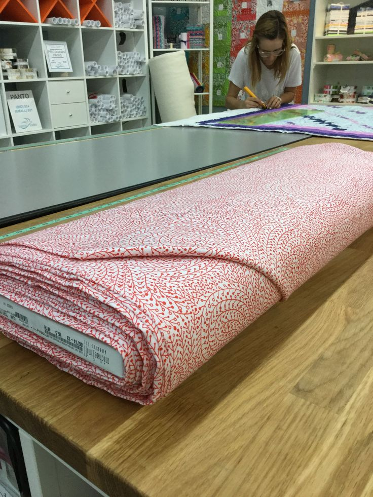 "Clementine - Luxe 108"" Wide Backing Michael Miller  #quilting #spreadthelove #ruler #newstuff"