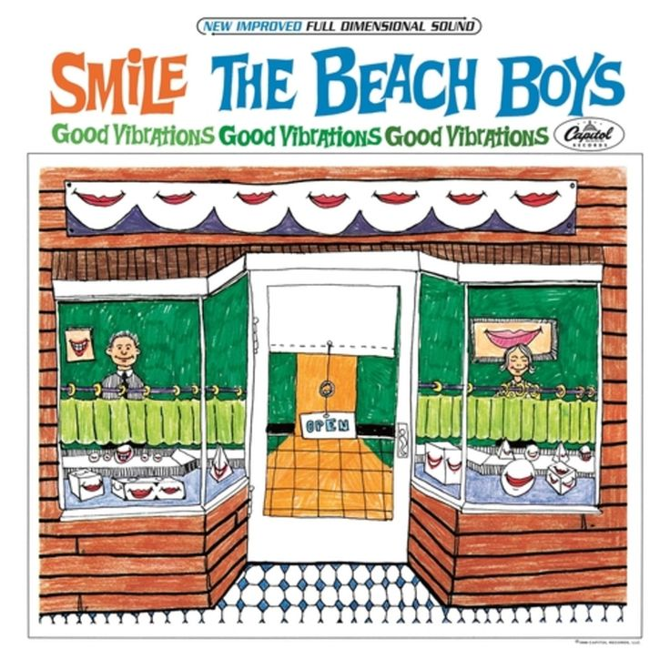 381. The Beach Boys, 'Smile (2011 Version)'  -    Capitol, 2011