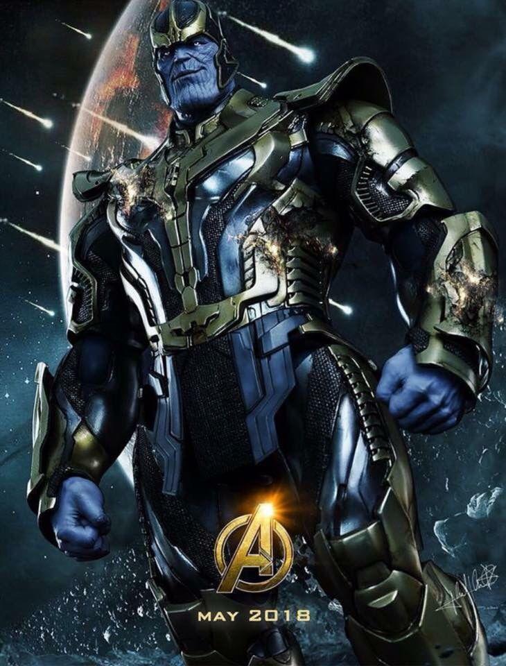 Thanos, Avengers:Infinity War