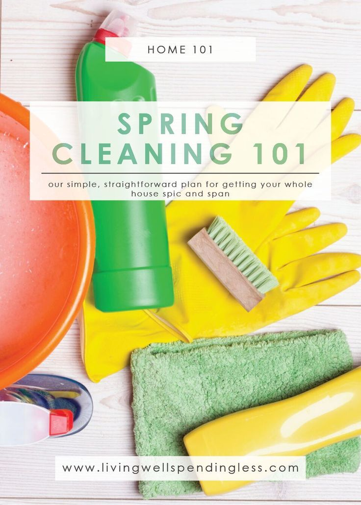 Ultimate Spring Cleaning Guide | Spring Cleaning Tips | Stress-Free Cleaning Guide | Spring Cleaning Made Easy via @lwsl