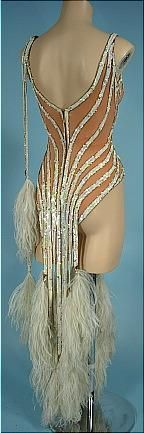 1970's Original BOB MACKIE Dance Costume Worn by MITZI GAYNOR! Constructed by Elizabeth Courtney, Hollywood Costumes