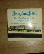 """*Vintage* Disneyland hotel, Anaheim,CA Matchbook"""""""