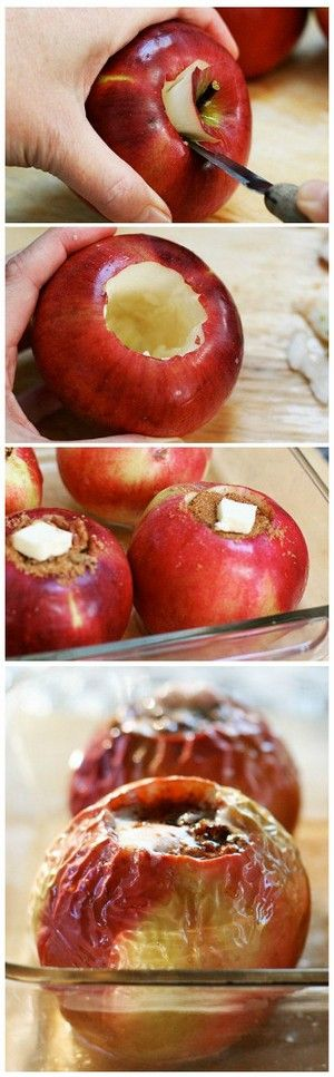 Baked Apples   During winter time you can feel a lack of vitamins. Baked apples will enrich your organism with needed ones. All you need is right connection of additive products. Enjoy your fruit sappy meal.