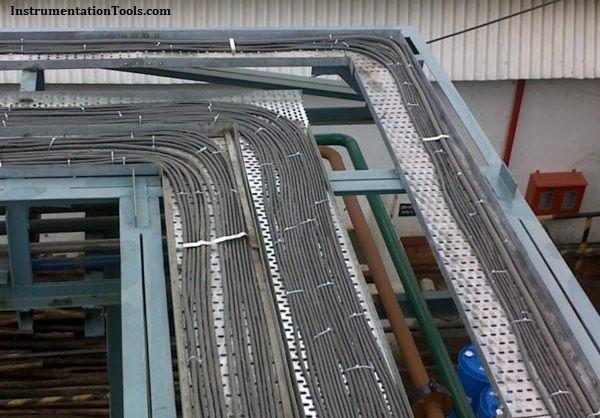 Instrumentation Cable Trays Installation In Vertical Orientation Cable Trays Cable Tray Electrical Installation