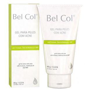 Bel Col Gel Para Pieles Con Acne Con componentes equilibrantes,controla el acné y actúa en la curación de la misma, nos previene de las marcas superficiales. Es una gran adición a los tratamientos del acné, la restauración de la calidad de la piel.