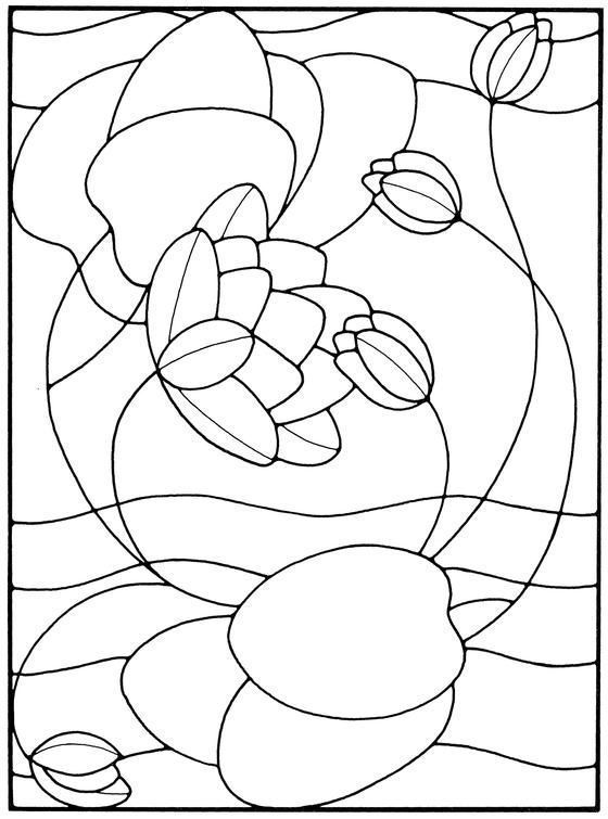 69 best Stained Glass Lotus Patterns images on Pinterest