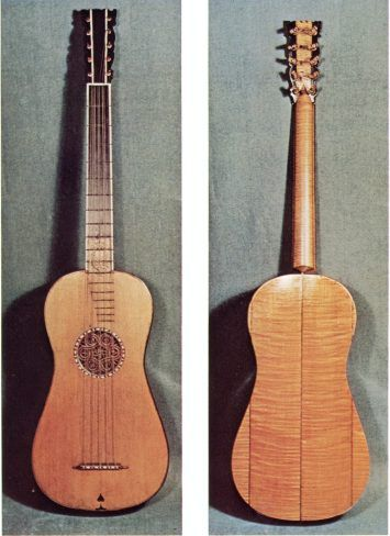 5-course guitar by Antonio Stradivarius, 1680