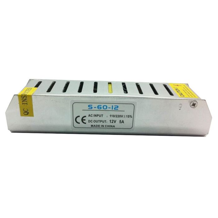 AC 110~220V to 12V Power Adapter w/ ±15% Protection to Short Circuit / Over-Voltage / Overload