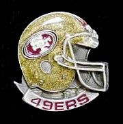 "Checkout our #LicensedGear products FREE SHIPPING + 10% OFF Coupon Code ""Official"" San Francisco 49ers Team Pin - Officially licensed NFL product Licensee: Siskiyou Buckle Classic lapel pin   San Francisco 49ers - Price: $15.00. Buy now at https://officiallylicensedgear.com/san-francisco-49ers-team-pin-sfp075"