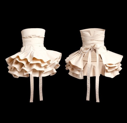 Tutu apron, I totally want this for when I finally decide to start cooking