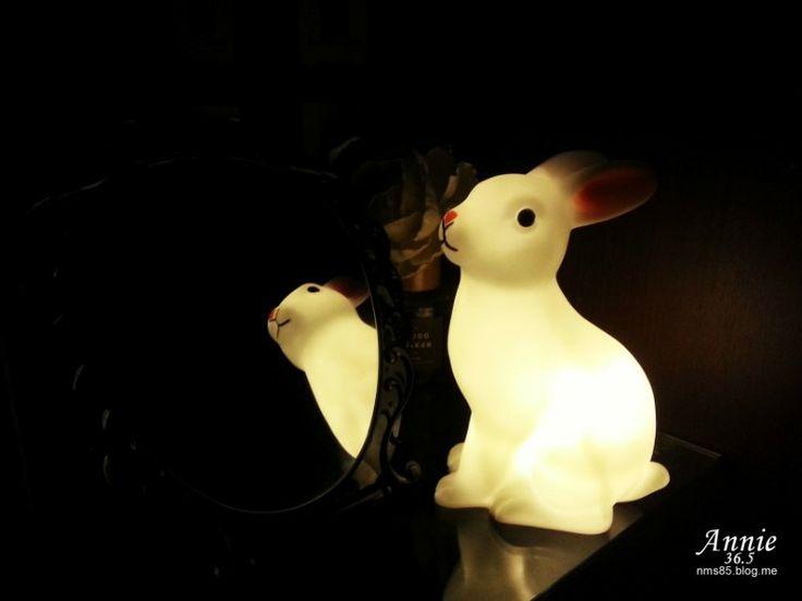 LED 미니토끼램프 : 아이방 소품 조명 인테리어, 수유등 활용 : 네이버 블로그