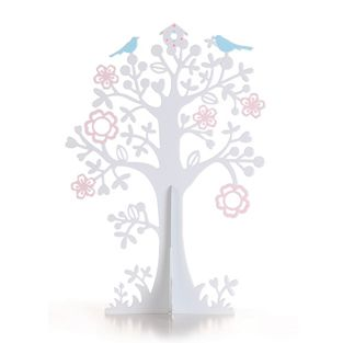 Spring Jewellery Tree. This stylishly jewellery display is a pretty addition for any boudoir. #interiors #bedroom
