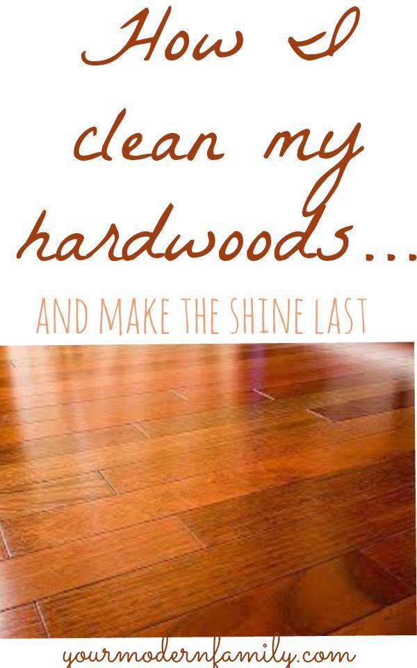 What Is The Best Way To Clean Dark Hardwood Floors