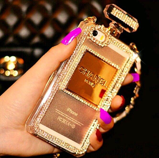 Chanel Perfume Bottle Phone Case Iphone