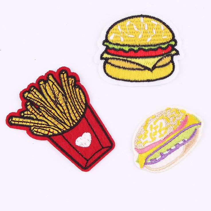 High Quality Mixture Sell Patch Hot Melt Adhesive Applique Embroidery Patch DIY Clothing Accessory Patch 1pcs Sell