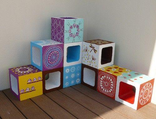12 best Jardinières en béton images on Pinterest Cubes, Cement and - peindre un lit en bois
