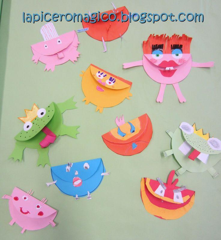 Hace unos meses estuvimos creando en clase de Plástica una especie de criaturas o monstruillos. Eso es algo que a los niños y niñas...