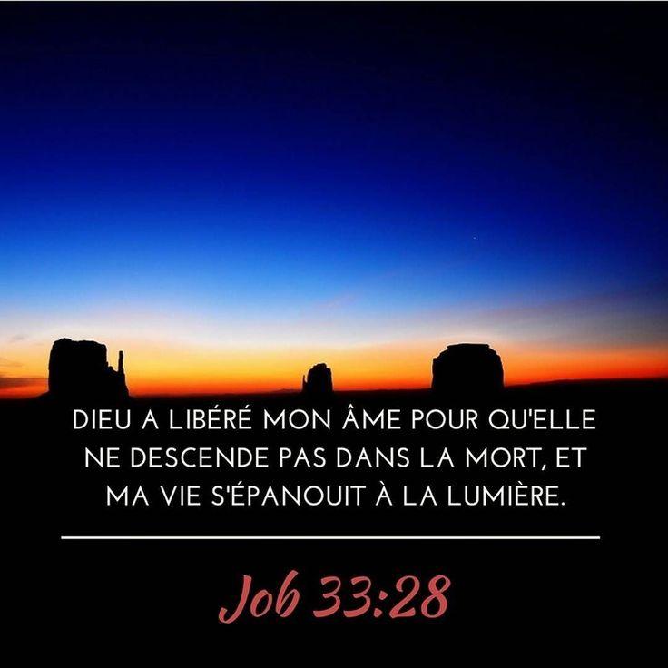 Job a vu Dieu a l'oeuvre toi aussi ? #lumiere #bible #versetdujour