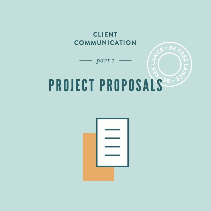 Project Proposals