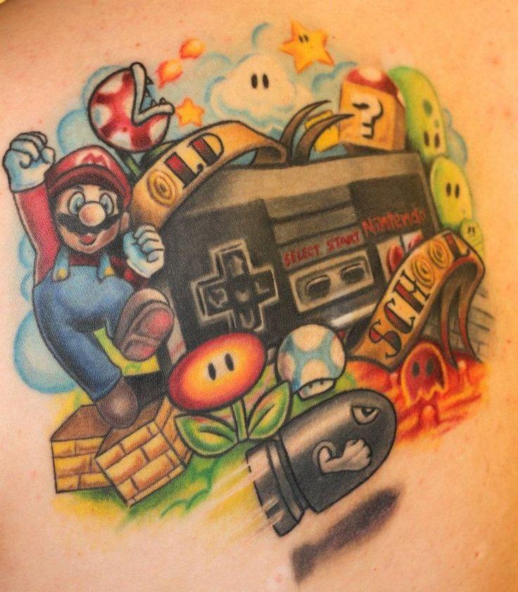 Supah Mario NES by Blixtra on deviantART