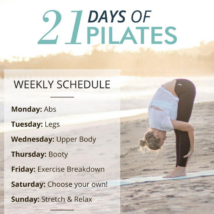 FREE CHALLENGE: 21 Days of Pilates!