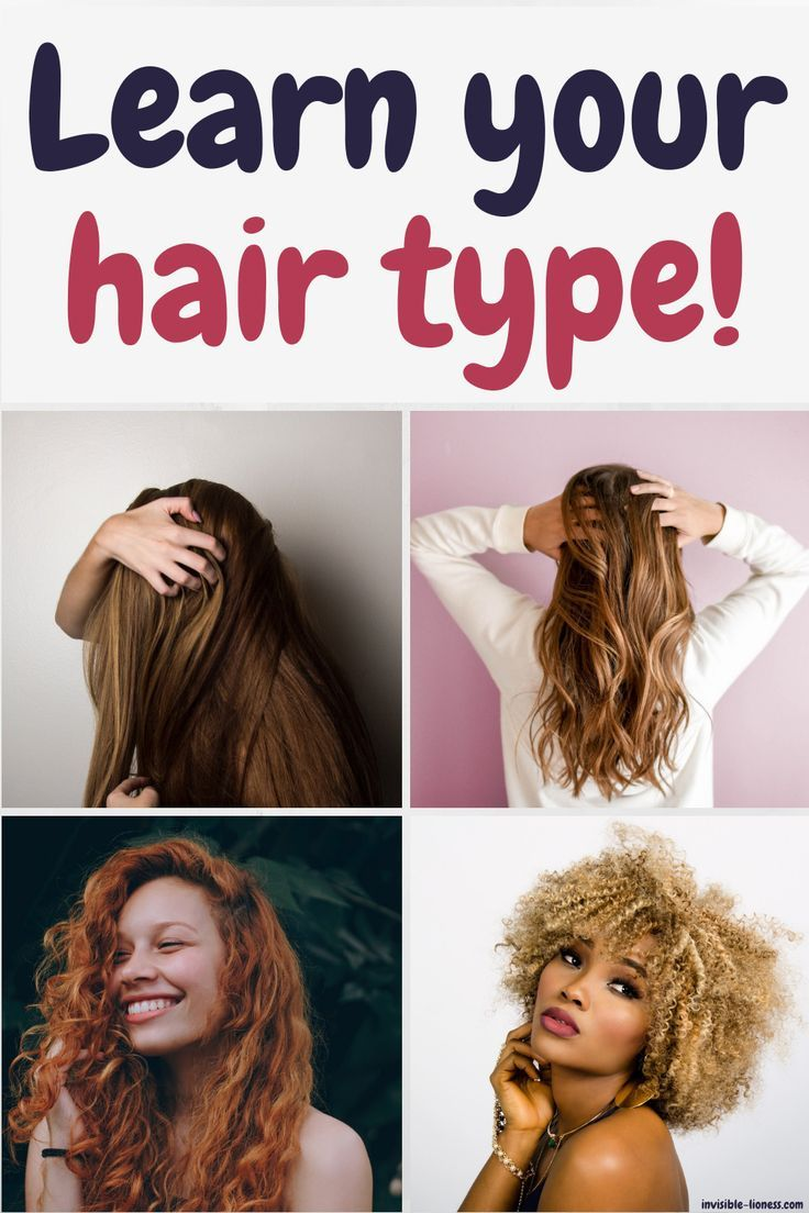 Your ultimate guide to the 4 hair types Type 1c hair