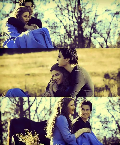Rose and Damon. {by Paria}