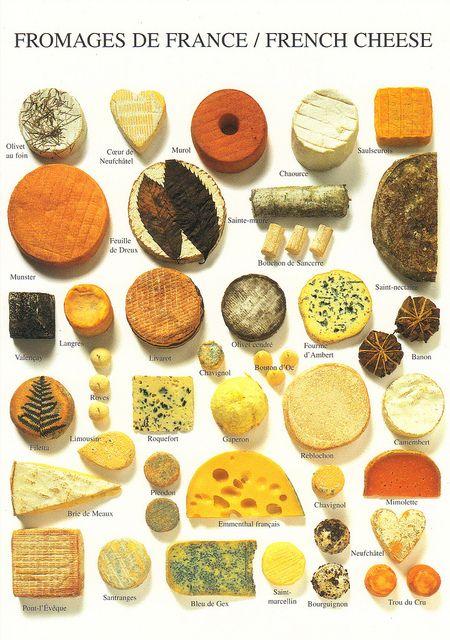 França é o país dos 300 queijos, existindo várias famílias de queijos, muitas…