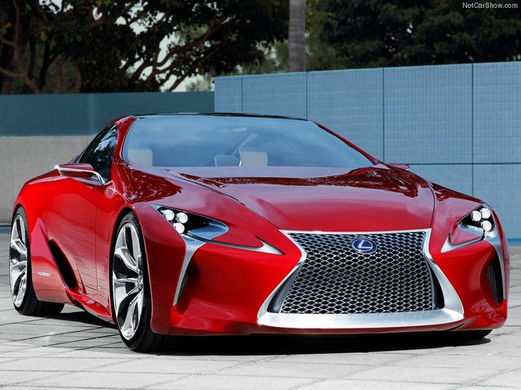 Without A Vision, My People ~ 2012 Lexus LF LC Hybrid Sport Coupe Concept.