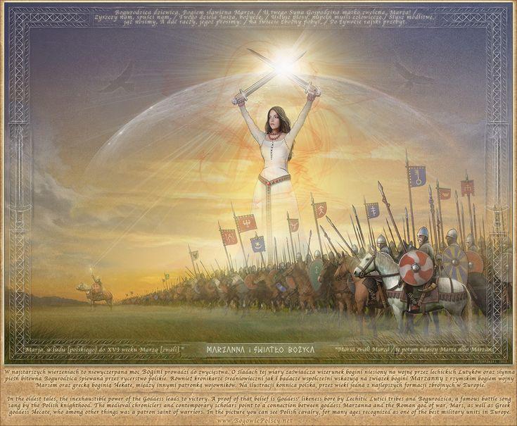Marzanna i Światło Bożyca