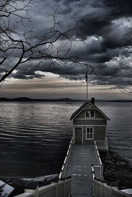 Essex, NY Boathouse #3 by philatelicguy, via Flickr