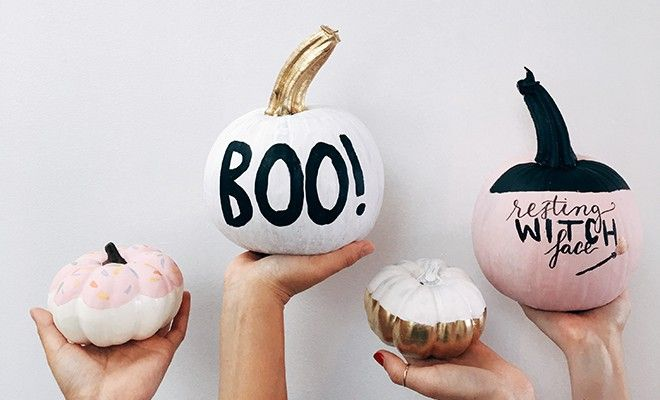 Scary Cute Pumpkin DIYs - FabFitFun