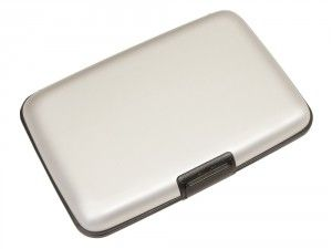 Wally Silver credit card holder with seven folders is available at We Get Personal. It can be engraved. Visit We Get Personal to order today. personalised card holder, engraved card holder, Wally Silver credit card holder