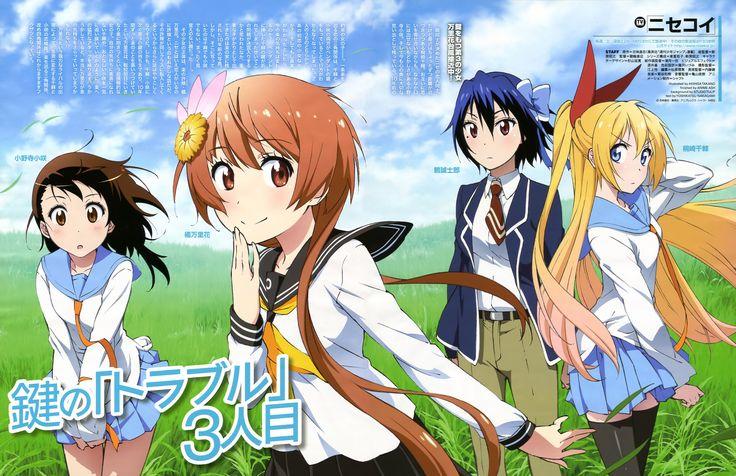 Nisekoi Wallpaper Read High Quality scans of Nisekoi Manga Online