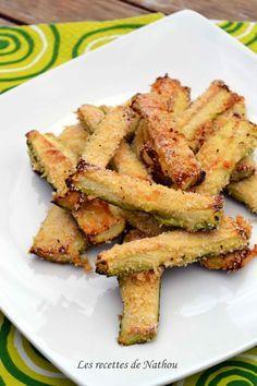 Les recettes de Nathou: Courgettes au parmesan pour l'apéro
