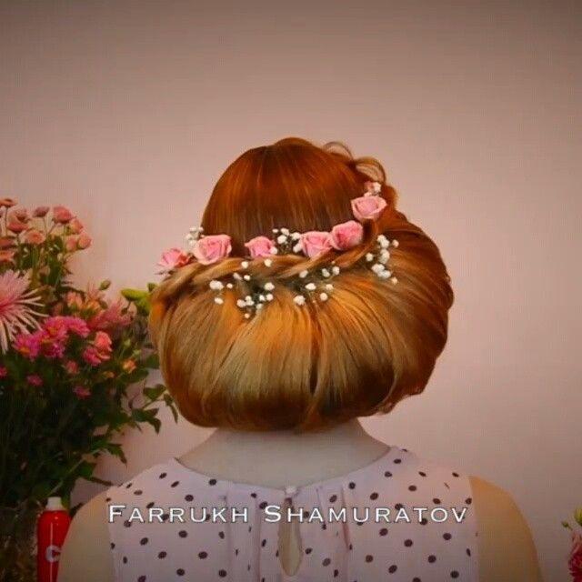 Glamuroso peinado cuentanos ¿se harian un peinado así para una ocasion especial? Por: @fshairdo canción: sugar ( robin schulz feat francesco yates )
