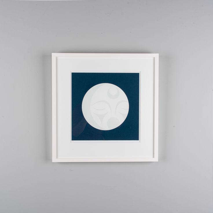 """Crescent Moon"" giclee Artist Proof (AP) edition of 10 by Coast Salish artist LessLIE"