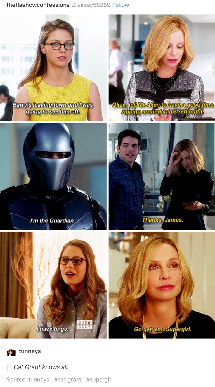 Cat Grant was by far my favourite character. Except perhaps for Winn