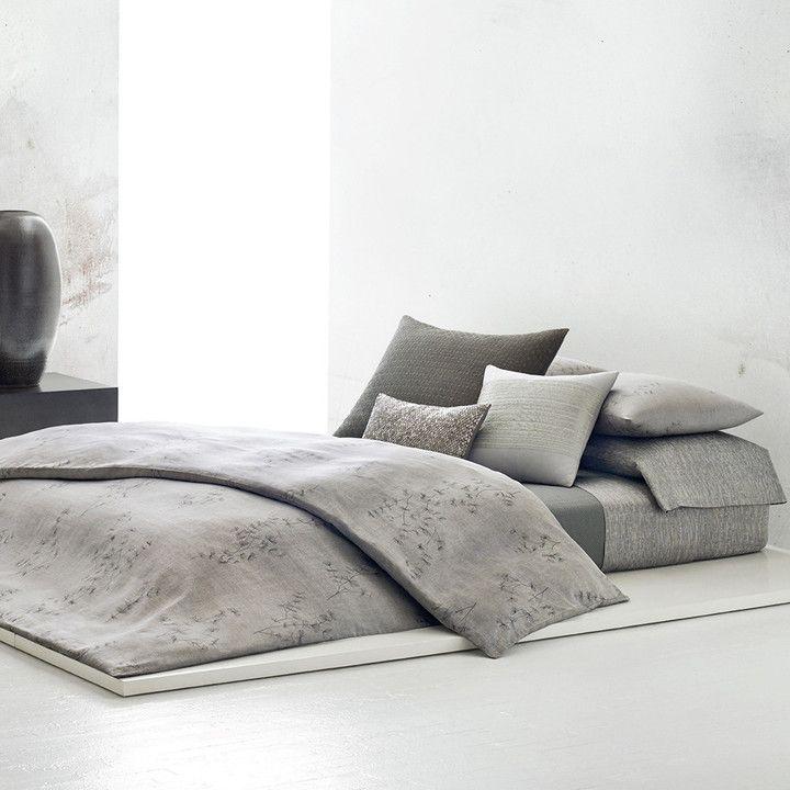 Calvin Klein - Acacia Grey Duvet Cover - Super King