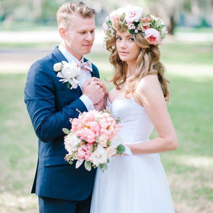 ▷ 1001 + Ideen für faszinierende Brautfrisuren …