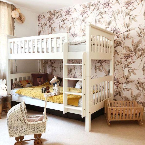 Tapeta Peonie Bez Home Decor Toddler Bed Loft Bed