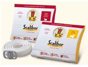 Collar antiparasitario Scalibor. Prevencion de la leishmaniosis, infecciones por garrapatas y pulgas.