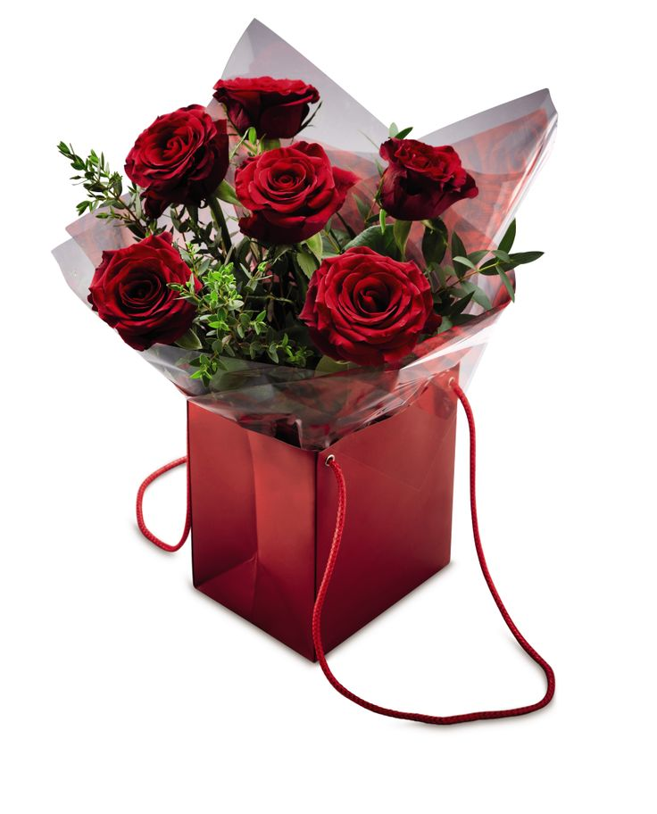 Luxury Valentine's Rose Gift Bag #AldiWishList