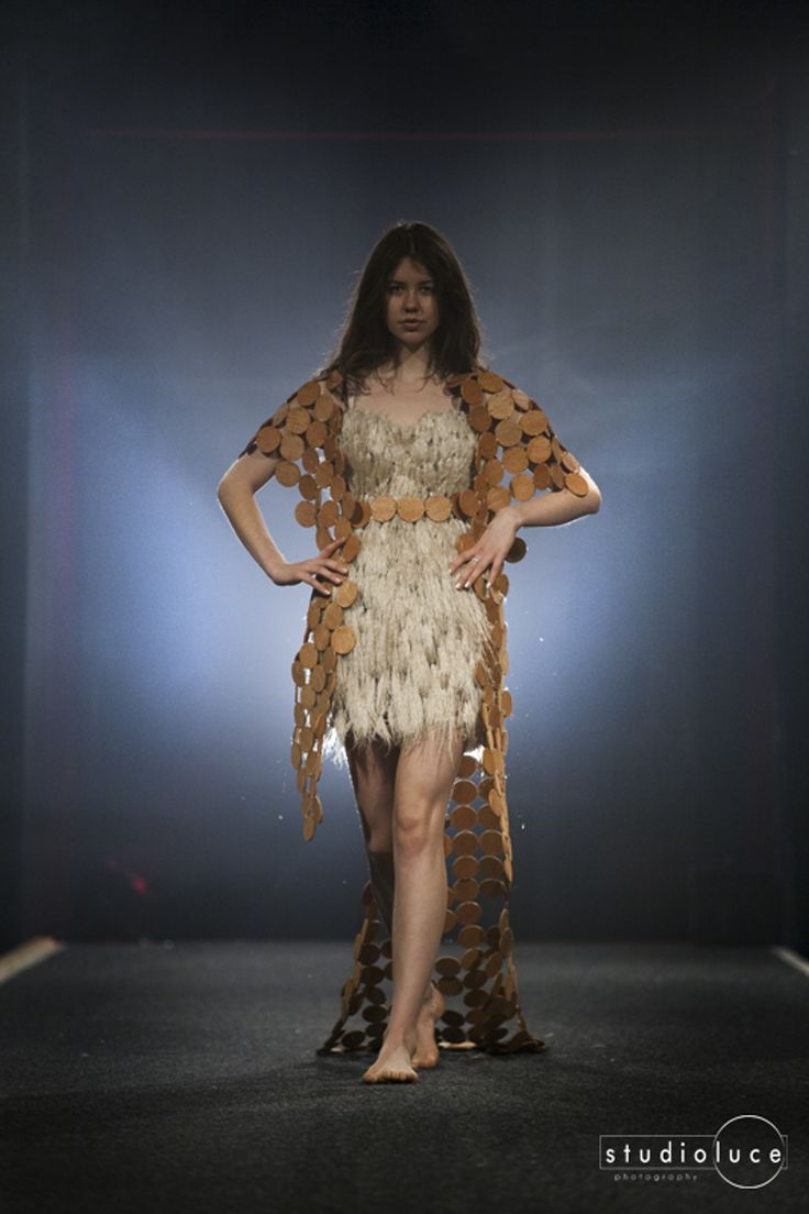Runway Fashion Photography  Photographer: Studio Luce  Location: Fieldays Wearable Arts Collen Mak - Wood You Wear It - Designer Traditional - Second Place 2014 Wearable Art Awards