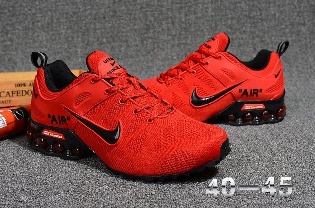 0da49a759b Nike Air Max 2018. 5 Flyknit Men's Sneakers Running Shoes Red/Black -  NikeMaxZone.com