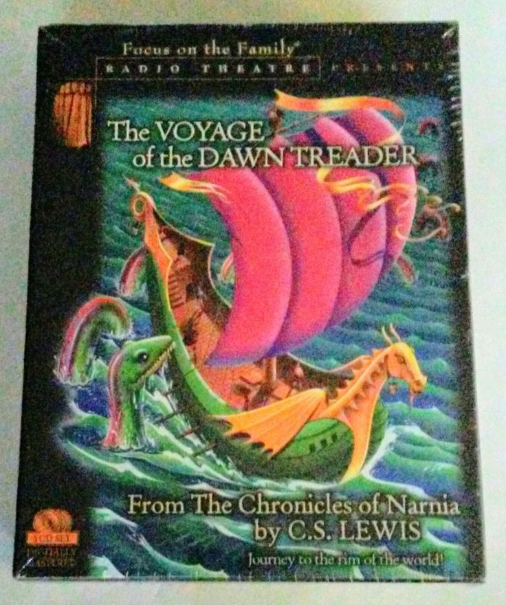 The Voyage of the Dawn Treader 3 CD set Focus on Family Radio Theatre