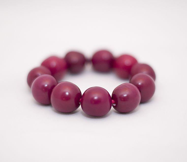 PLAYA Bracelet - Burgundy Chicon Nuts