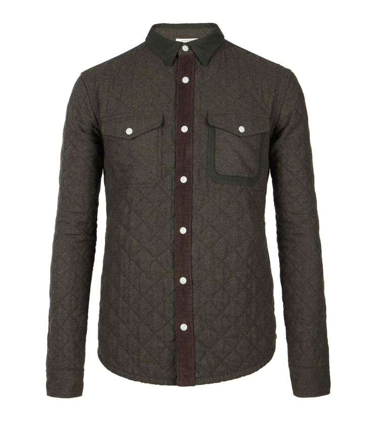 This shirt is pretty tough gamekeeper quilted shirt for Men s dobby shirt