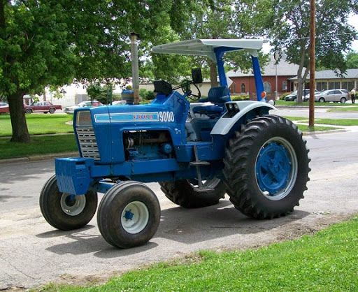 Big Ford Tractors : Best tractors with a style all their own images on